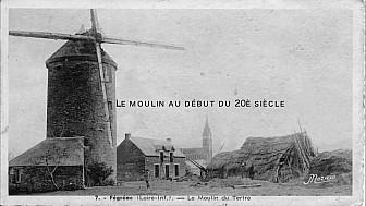Patrimoine: Rénovation du Moulin du Tertre à Fégréac - 44